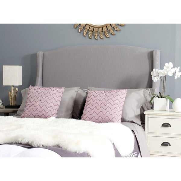 Safavieh Austin Light Grey Headboard (Full)