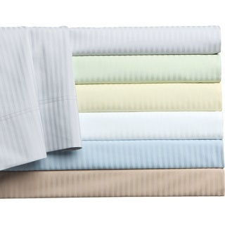 500 Thread Count Cotton Regency Stripe 6-piece Sheet Set