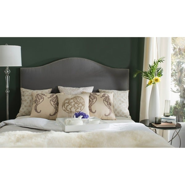 Safavieh Connie Grey Headboard (Queen)