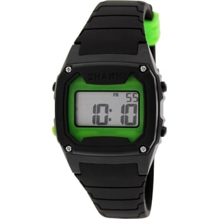 Freestyle Men's Shark 102278 Black Silicone Quartz Watch with Digital Dial