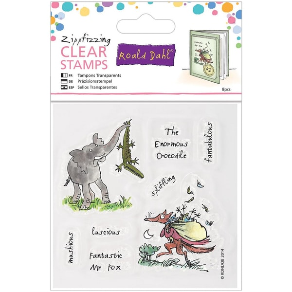 Roald Dahl The Enormous Crocodile/Fabtastic Mr. Fox Stamps-Zippfizzing