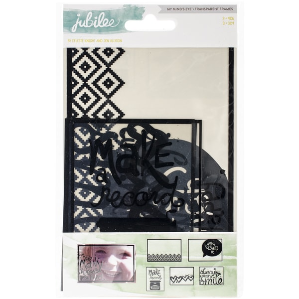 Jubilee Wild Berry Transparancey Decorative Frames-Wonder