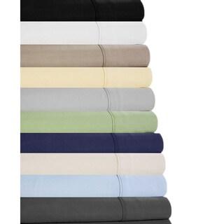 Causal Elegance-Brushed Microfiber Sheets