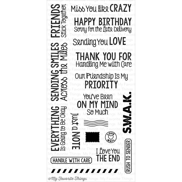 My Favorite Things Die-Namics Companion Stamp-You've Got Mail