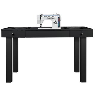 The Lilly Scrapbox Black Sewing Table