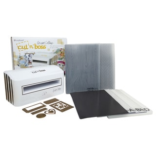 Teresa Collins Cut'N'Boss Cutting and Embossing Machine with Die Cut Accessories
