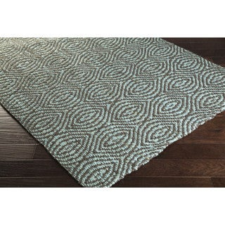 Hand-Woven Annie Jute Medallion Area Rug (63 inches long x 39 inches wide)