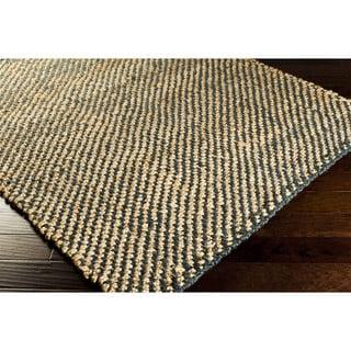 Hand-Woven Hattie Jute Dots Area Rug (3'6 x 5'6)