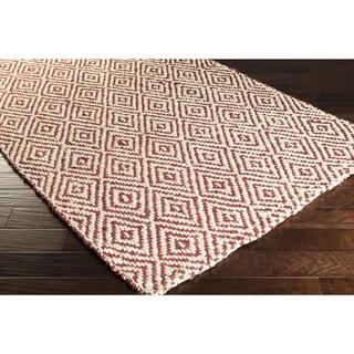 Hand-Woven Kasey Jute Lattice Area Rug (5' x 8')