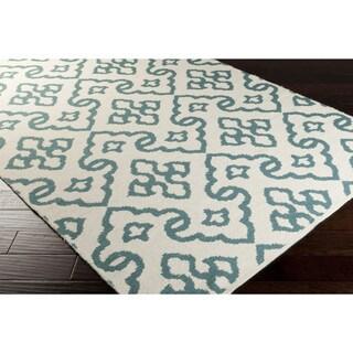 Hand Woven Lorri Wool Geometric Area Rug (5' x 8')
