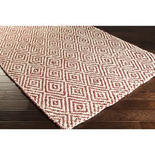 Hand-Woven Kasey Jute Lattice Area Rug (2' x 3')