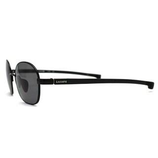 Lacoste Unisex LA 114 001 Black Round Sunglasses