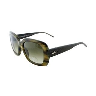 Lacoste Women's LA 666 315 Horn Square Sunglasses