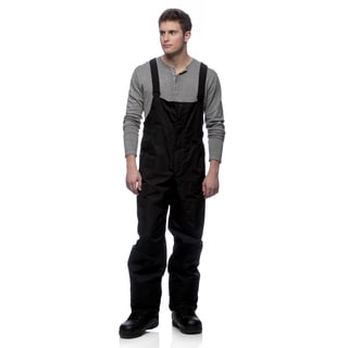 Marker Men's Gillette Black Bib Ski Pants