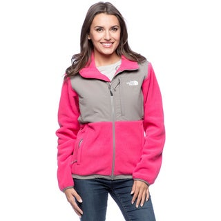 The North Face Women's 'Denali' Passion Pink and Pache Grey Jacket