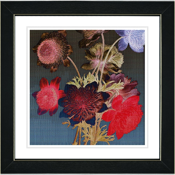 Studio Works Modern Zhee Singer 'Night Bloom' Framed Fine Art Print