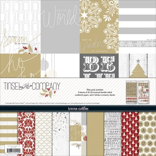 "Teresa Collins Collection Pack 12""X12""-Tinsel & Company"