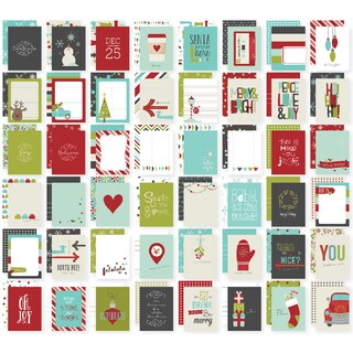 "Sn@p! Double-Sided Card Pack 3""X4"" 48/Pkg-Tis The Season"