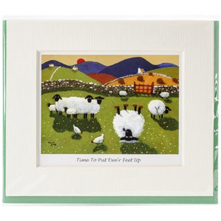 Mini Card-Time To Put Ewe're Feet Up