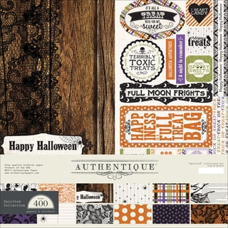 "Authentique Collection Kit 12""X12""-Spirited"