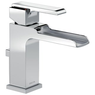 Delta Ara Single-handle Single-hole Lavatory Faucet with Channel Spout