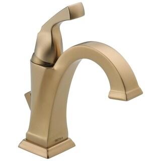 Delta Dryden Single-handle Centerset Lavatory Faucet in Champagne Bronze