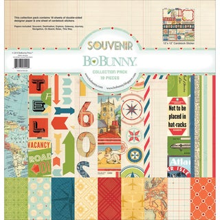 Souvenir Collection Pack 12X12in