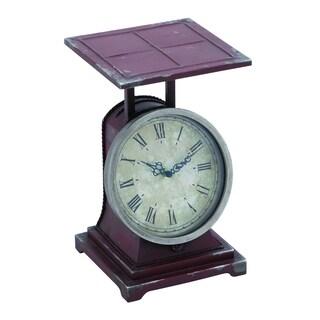 Metal Scale Decor Clock