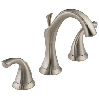 Delta Addison Double-handle Widespread Lavatory Faucet in Brilliance Stainless