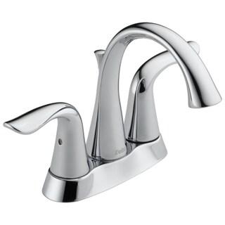 Delta Lahara Double-handle Centerset Lavatory Faucet in Chrome