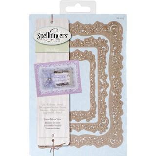 Spellbinders Nestabilities A2 Card Creator Dies-Snowflakes View