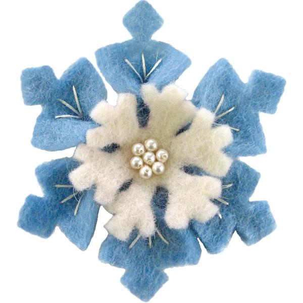 Feltworks Flower-Snow Flower
