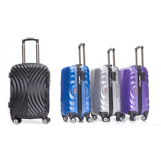 English Laundry 20-inch Carry-on Hardside Spinner Upright Suitcase