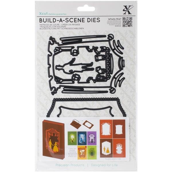 Xcut Build-A-Scene Dies 6/Pkg-Shadow Box Theatre