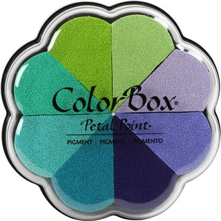 ColorBox Pigment Petal Point Option Pad 8 Colors-Serenity