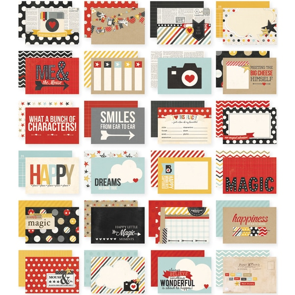"Sn@p! Double-Sided Card Pack 4""X6"" 24/Pkg-Say Cheese"