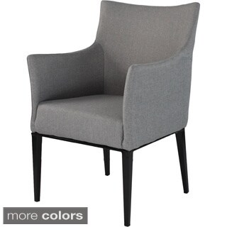 Dalton Grey Upholstered Arm Chair