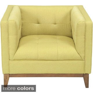 Aurelle Home London Upholstered Club Chair