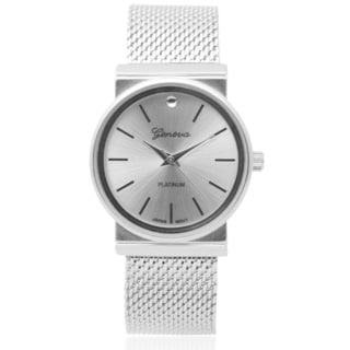 Geneva Platinum Women's Quartz Bracelet Watch