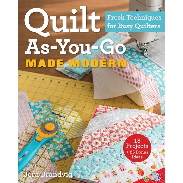 Stash Books-Quilt As-You-Go Made Modern