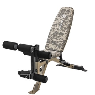 Marcy Deluxe Utility Camo Bench
