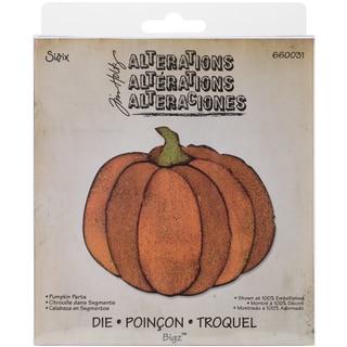 """Sizzix Bigz Die By Tim Holtz 5.5""""X6""""-Pumpkin Parts"""