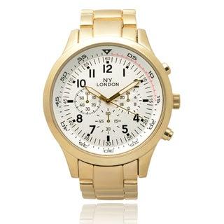 GP London Men's Metallic Link Watch