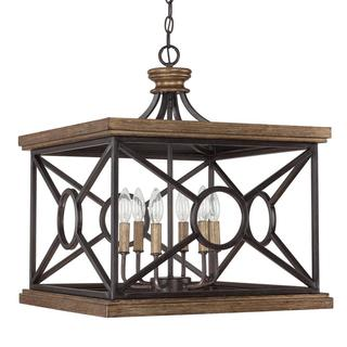 Capital Lighting Landon Collection Surry Rectangular 6-light Foyer Pendant