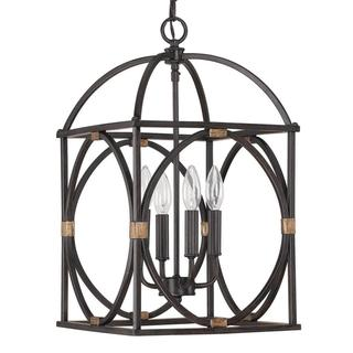 Traditional 4-light Surry Foyer Pendant Light