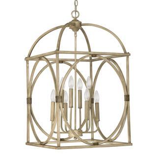 Capital Lighting Traditional French Oak 8-light Foyer Pendant
