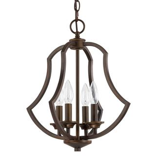 Capital Lighting Sydney Collection Burnished Bronze 4-light Foyer Pendant