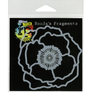 "Crafter's Workshop Fragments Templates 4""X4""-Poppy"