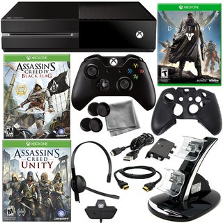 Xbox One Asassin's Creed Holiday Bundle with Destiny & 8 in 1 Kit
