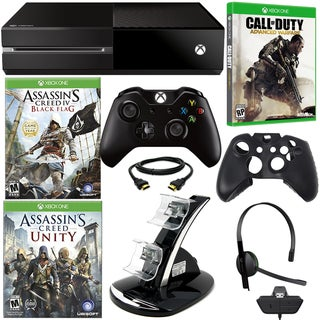 XBOX One Assassin's Creed Holiday Bundle with Call of Duty Advanced Warfare & Accessories